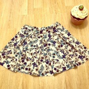 Blooming in blue torrid skirt size of 1x Plus size
